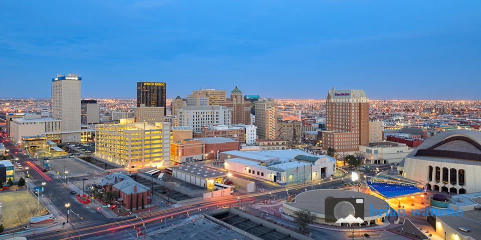 Urban Landscape Photography Downtown El Paso El Paso Professional Photographer