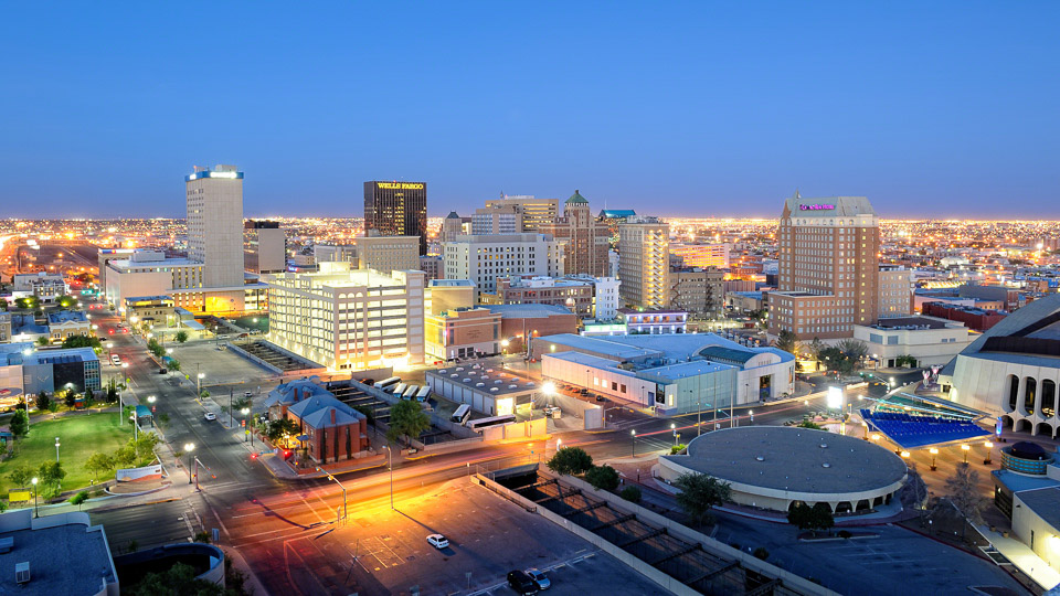 Downtown El Paso Skyline