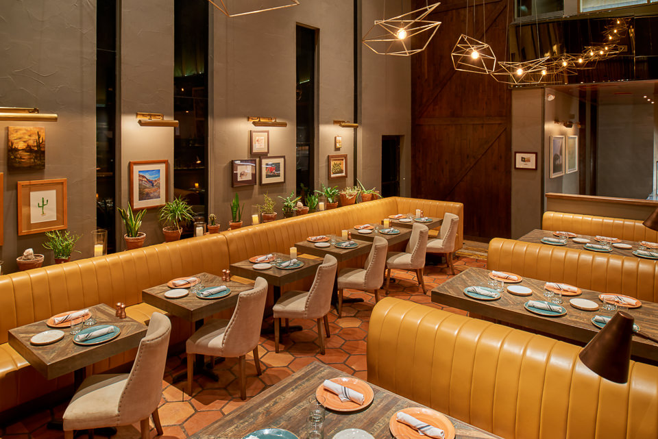 Interior restaurant photographer
