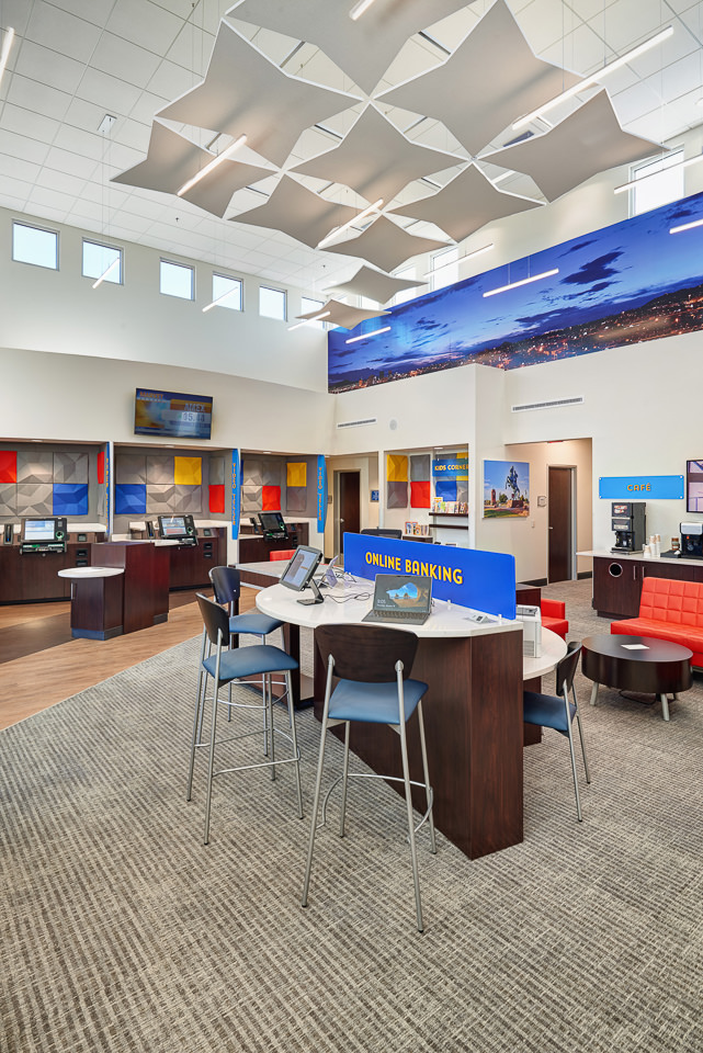 Interior Credit Union Photographer