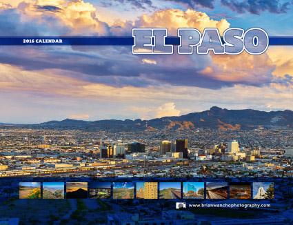 2016 El Paso Photo Wall Calendar
