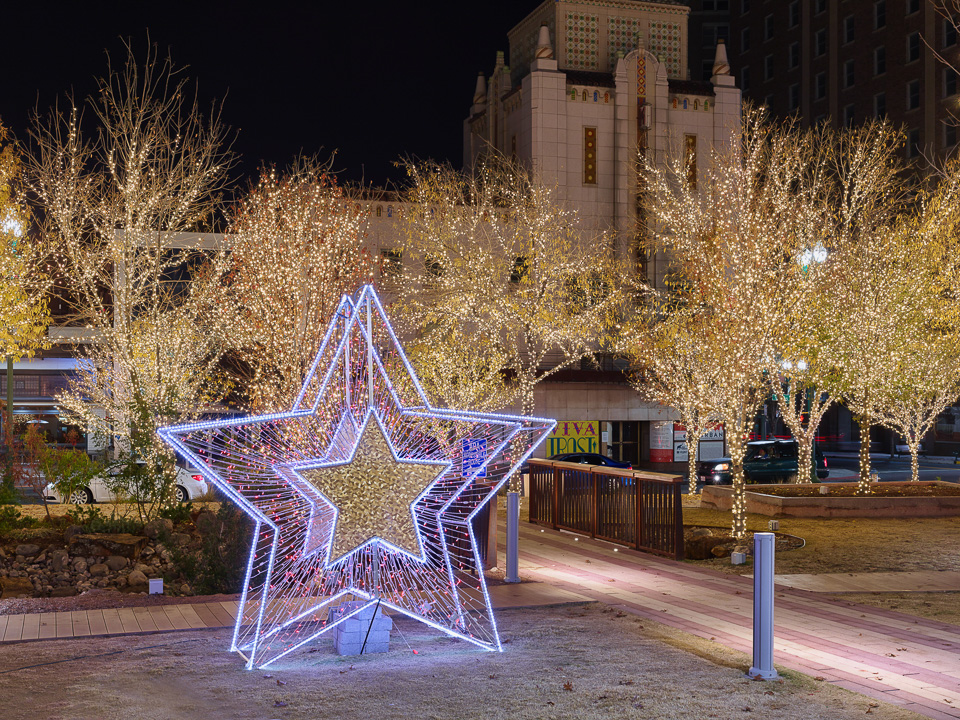 Christmas in downtown El Paso