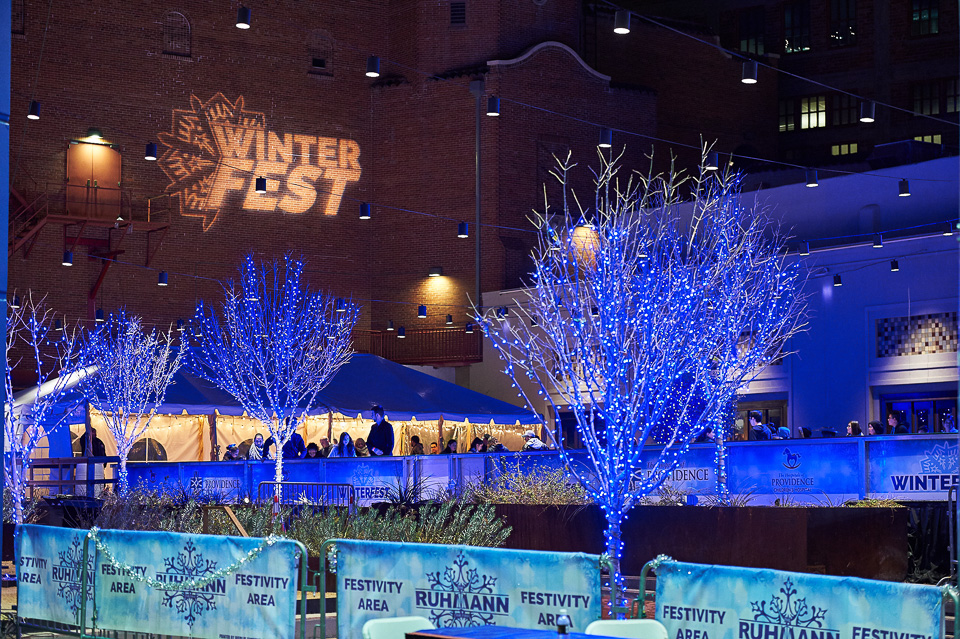 Winterfest in downtown El Paso