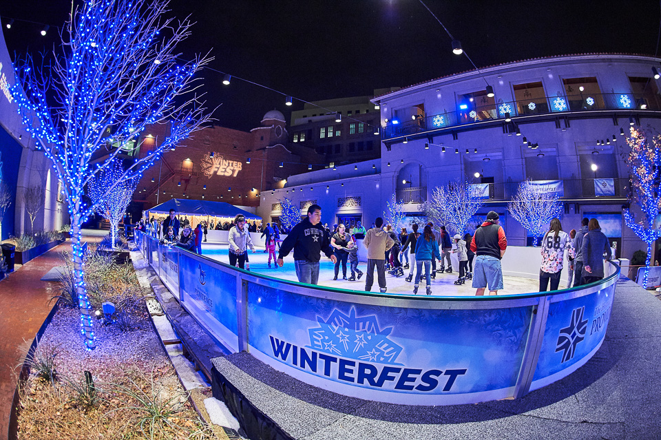 Photograph of Winterfest in El Paso, Texas