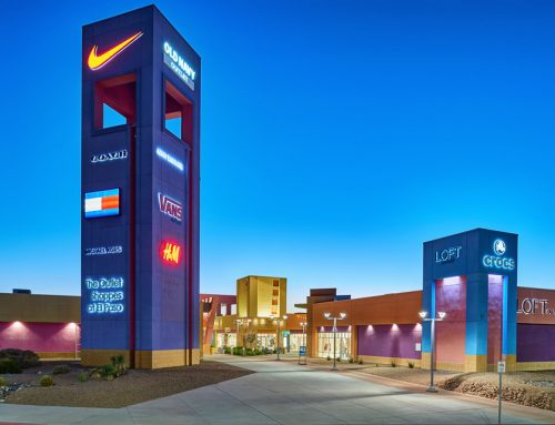 The Outlet Shoppes at El Paso – Architectural Photography in El Paso, Texas