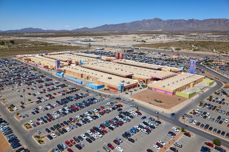 aerial photography in El Paso