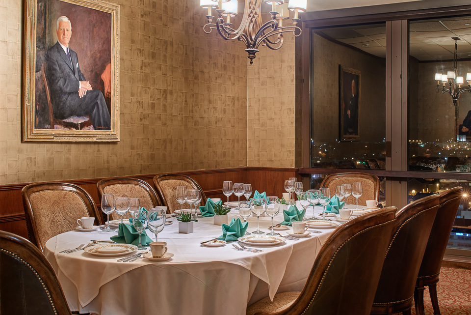 Private Dining at The El Paso Club