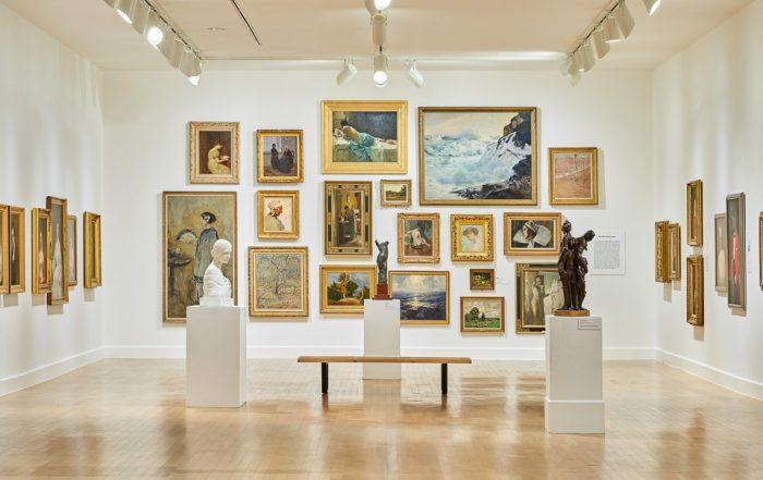 Interior photography of El Paso Museum of Art