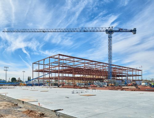 Construction Progress Photography of Eastwood High School