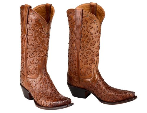 Product Photography for Lucchese Boots