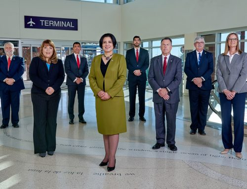 Professional Portraits for El Paso Airport Executives