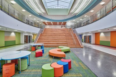 Architectural Photography of Mission Valley School