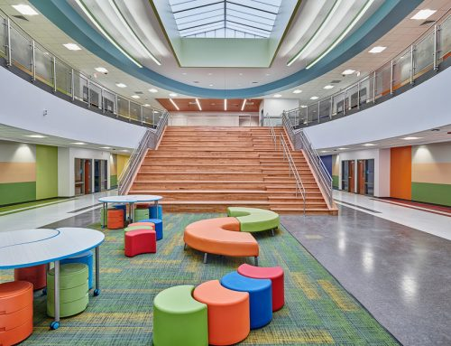 Architectural Photography of Mission Valley Elementary School