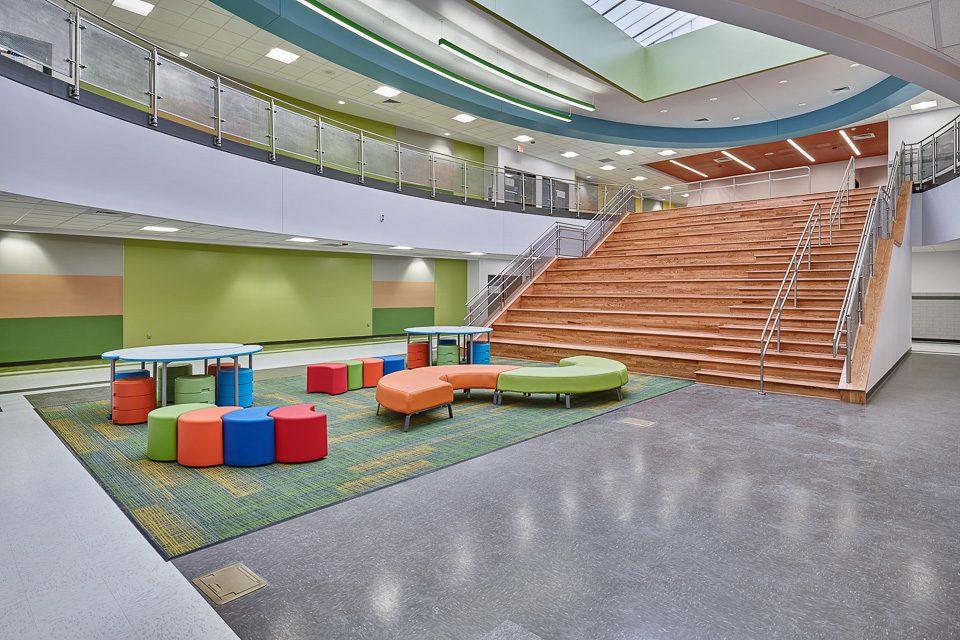Interior Architectural Photography of El Paso School