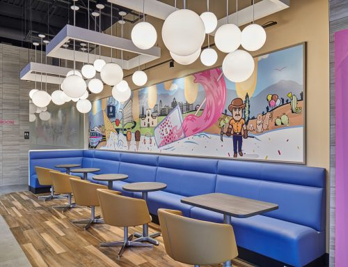 Interior Photography of Baskin Robbins