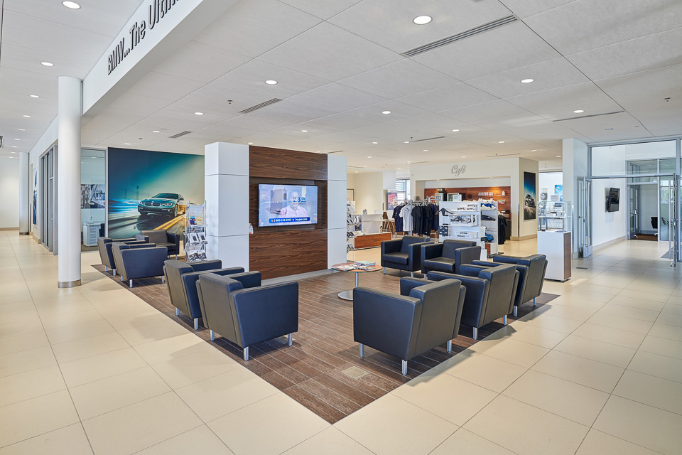 Interior Photography of BMW of El Paso