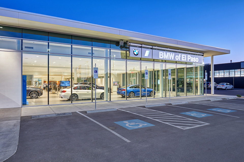 Architectural Photography of BMW of El Paso
