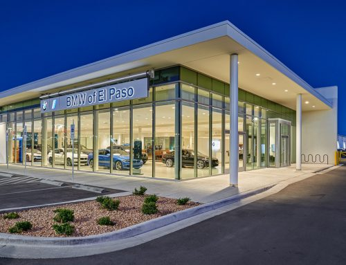 Professional Architectural Photography of BMW of El Paso