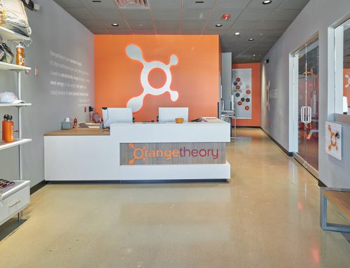 Interior Business Photography for Orange Theory Fitness
