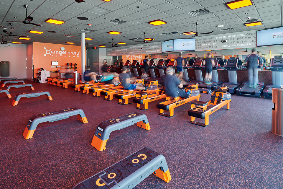 Architectural Photography of Orange Theory Fitness