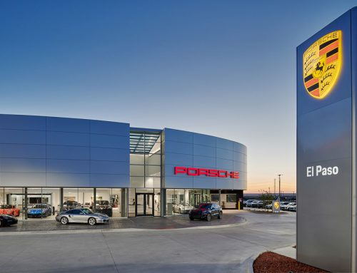 Architectural Photography of Porsche El Paso