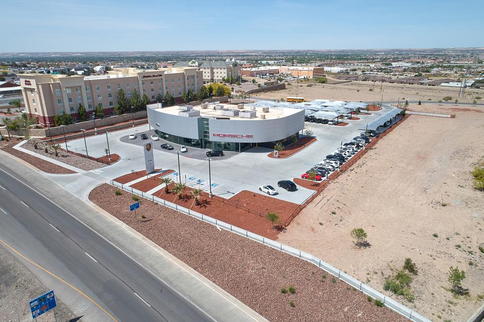 Aerial Photo of Porsche El Paso