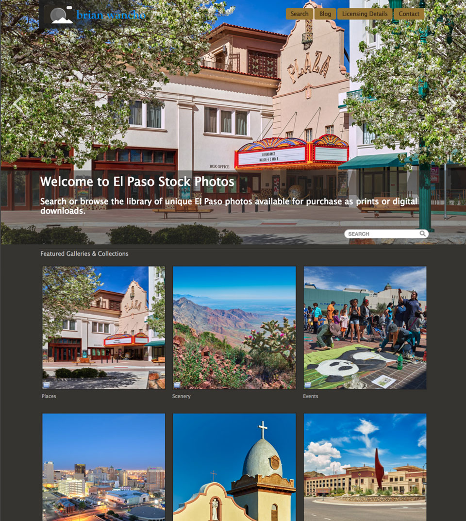 El Paso Stock Photos