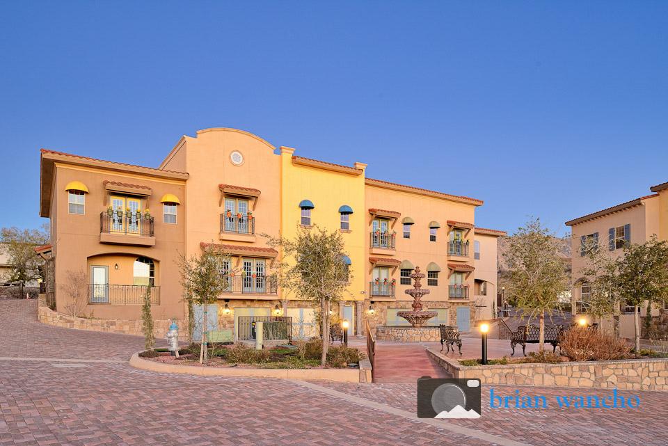 Dusk architectural photographer in El Paso