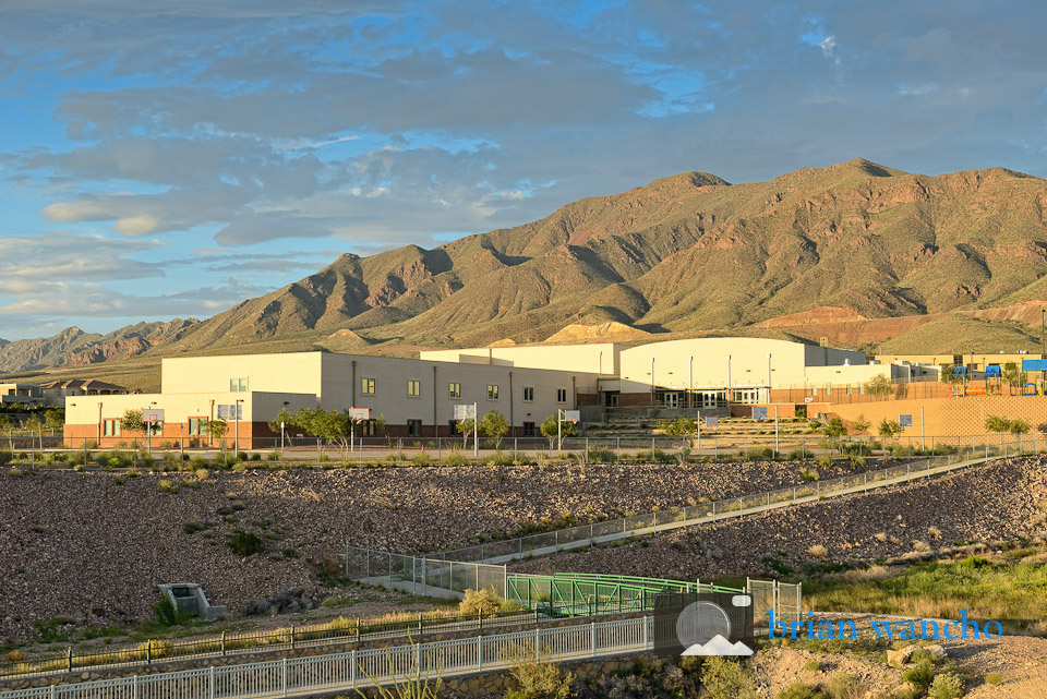 Lundy School campus in El Paso
