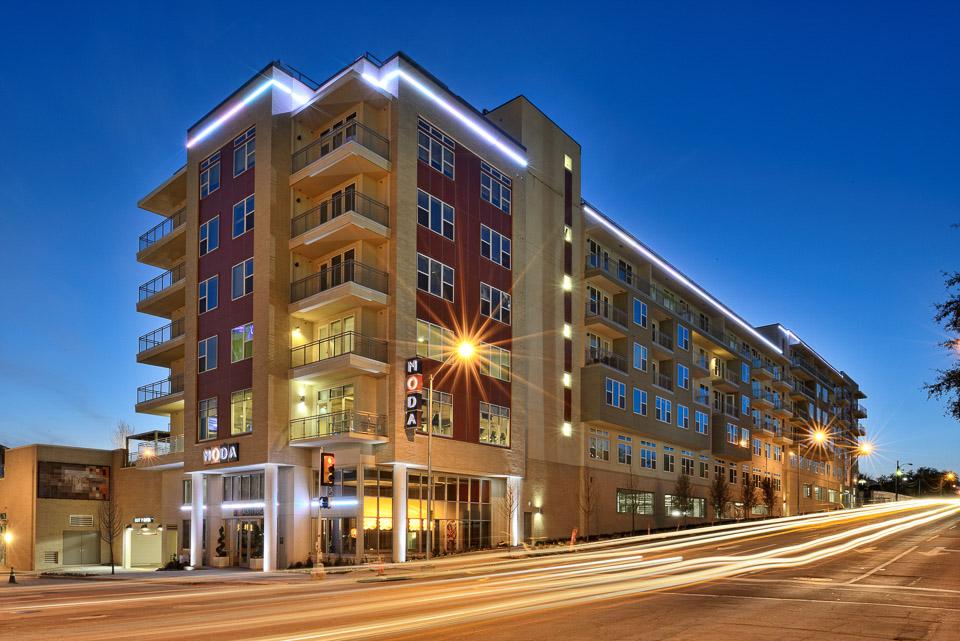 Moda luxury apartments in Dallas, Texas