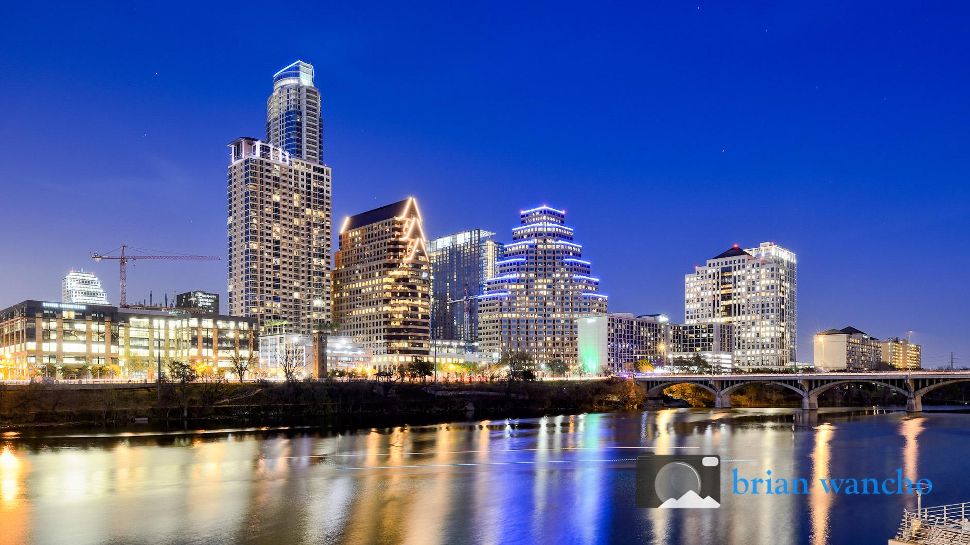 Austin, Texas Skyline at Night - El Paso Professional ...