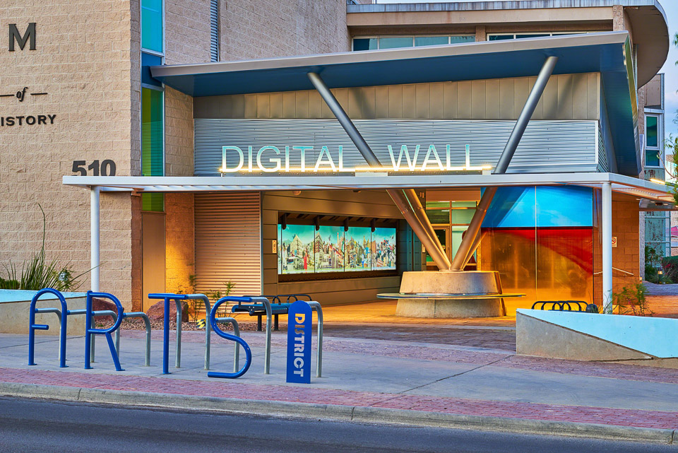 photo of el paso digital wall