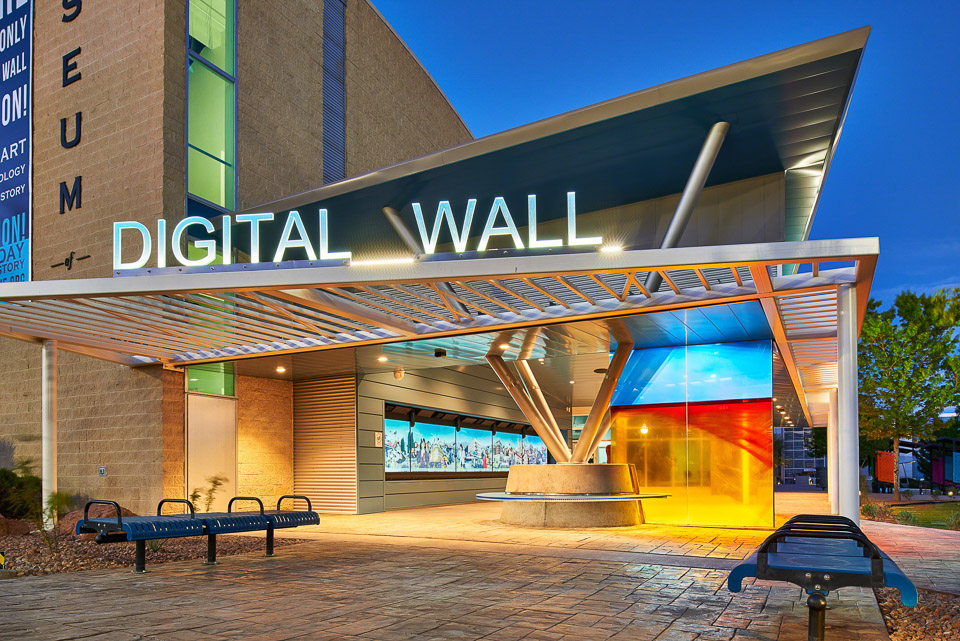 Digital wall in El Paso