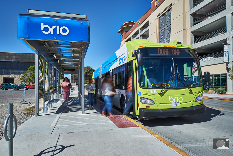 Creative professional photographer in El Paso - Sun Metro Brio