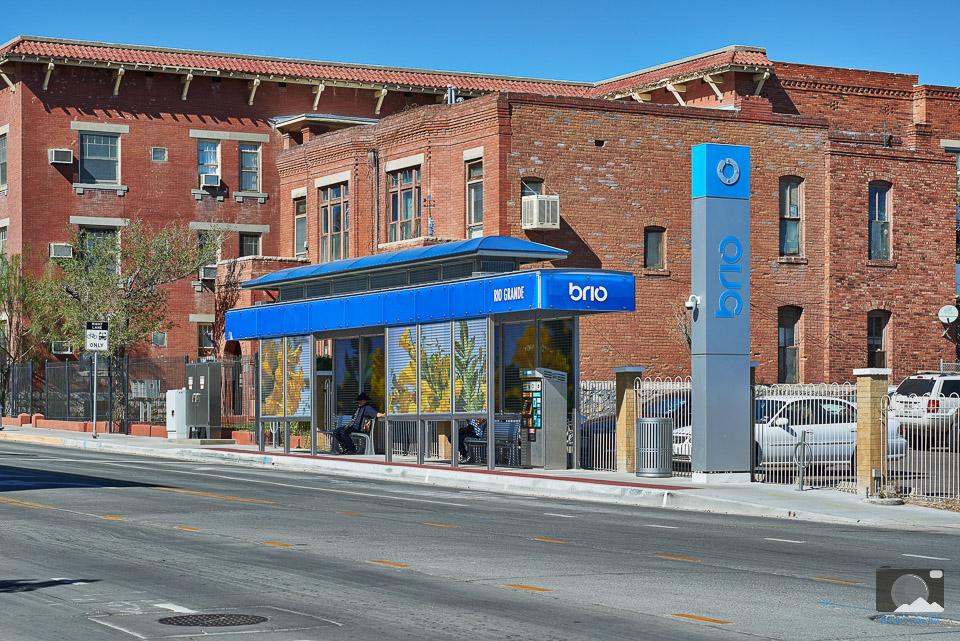 Sun Metro Brio Station in El Paso