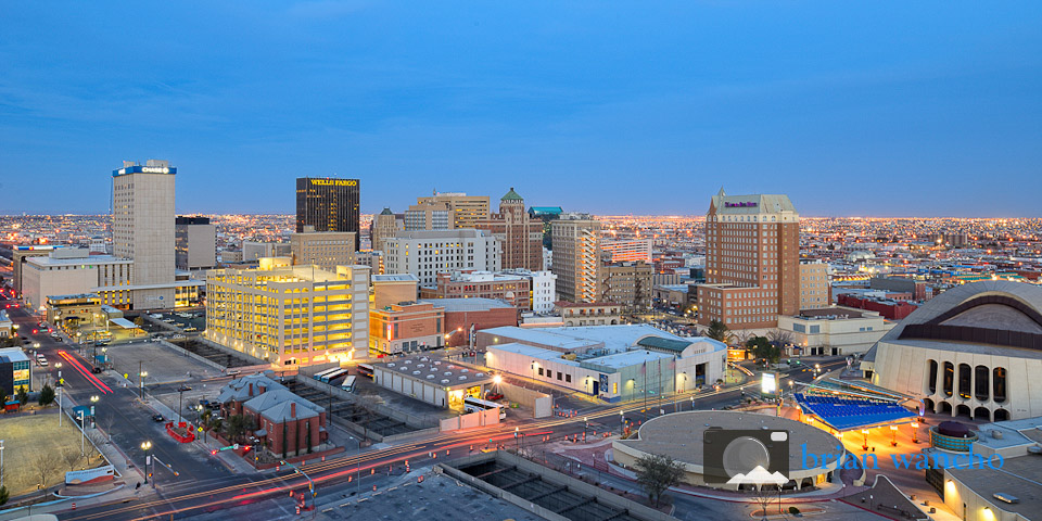 Downtown El Paso - Urban Landscape and Travel Photogrpher