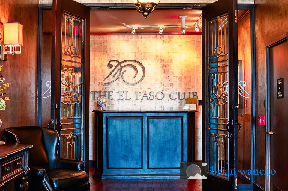 Interior Architecture Photography - The El Paso Club