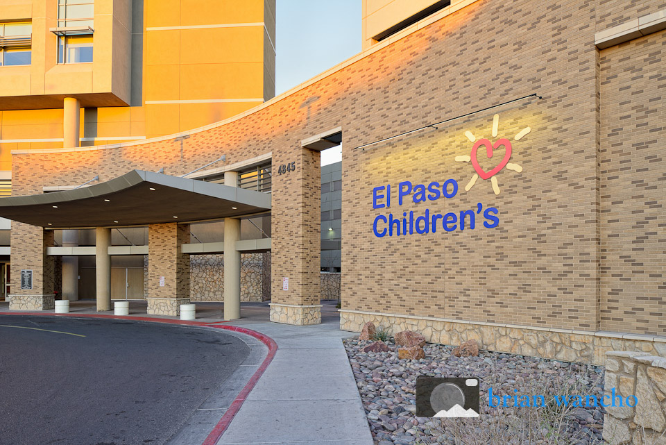 Photography of buildings - El Paso Children's Hospital