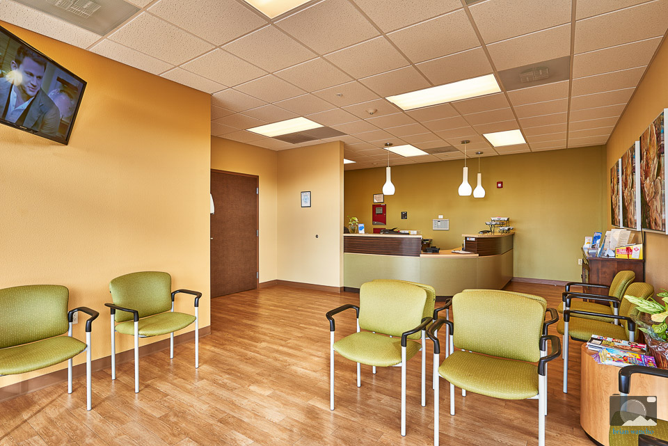 Interior Photography of Waiting are at Complete Emergency Care