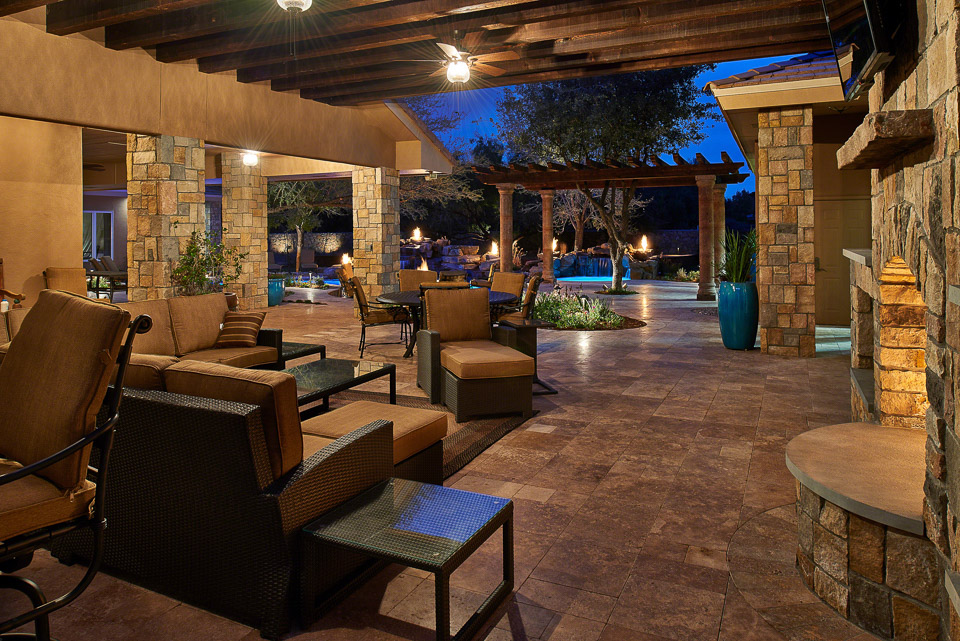 Outdoor living photography