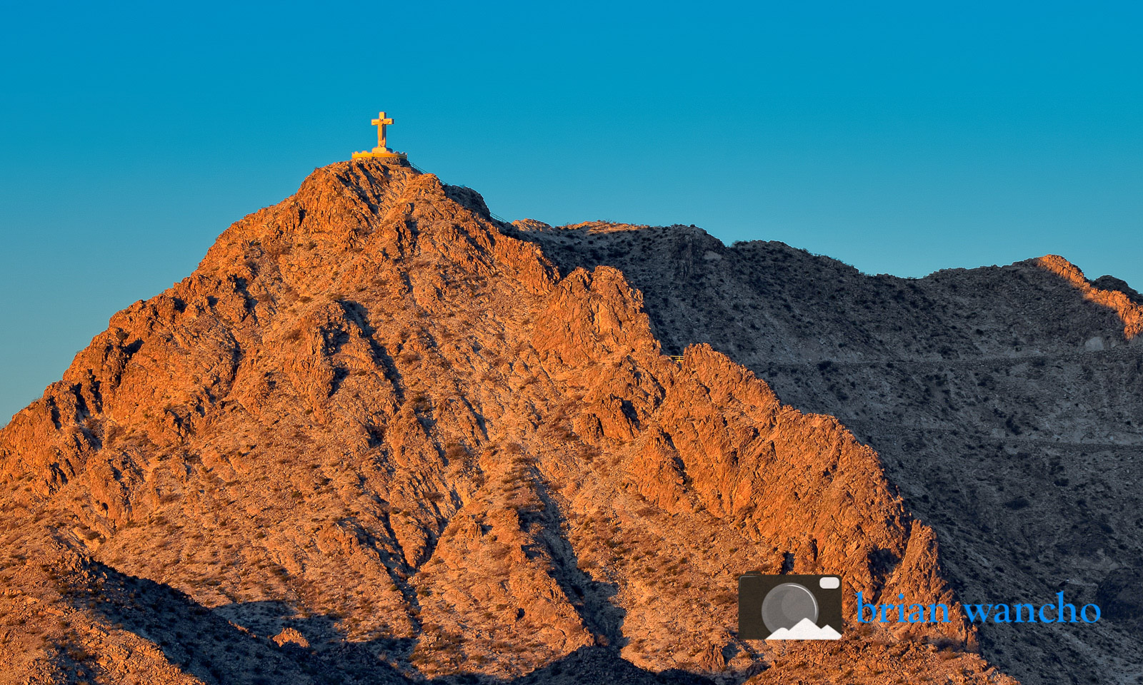 Mount Cristo Rey at Sunrise