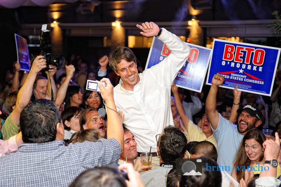 El Paso Event Photographer - Beto O'Rourke