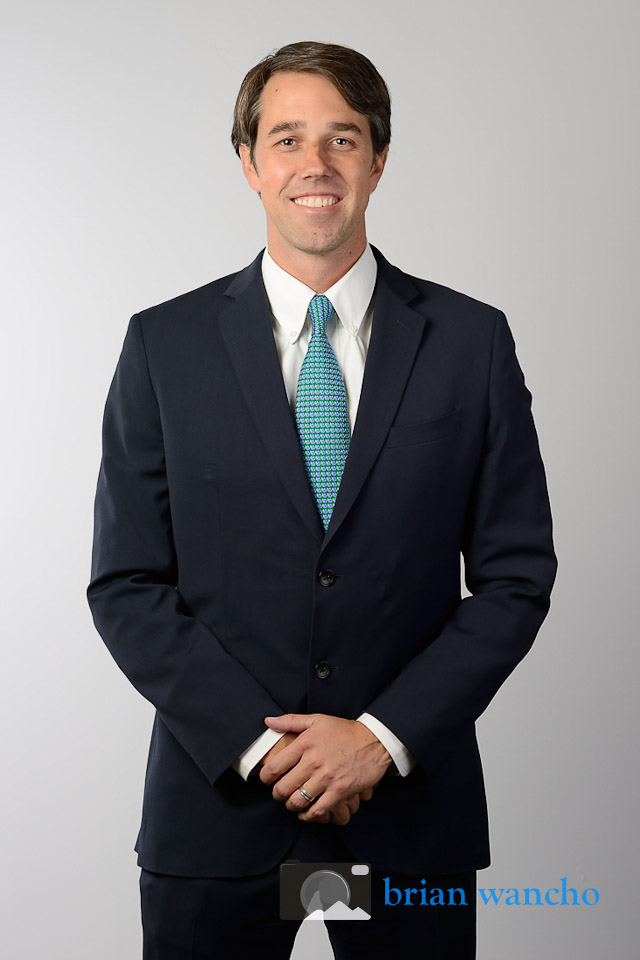Beto O'Rourke Portrait Photographer
