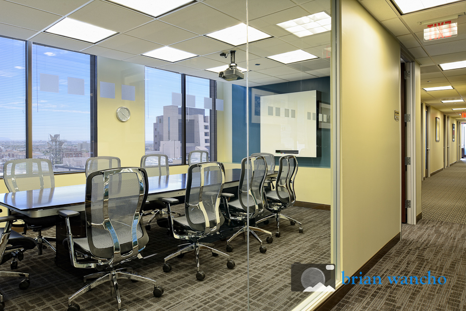 Conference room at Regus office in El Paso Texas