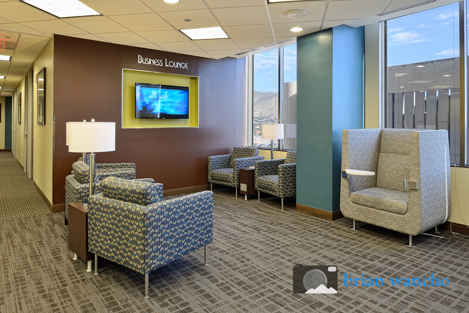 Interior architectural photographer of Regus office in El Paso