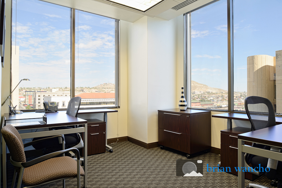Private office at Regus office in El Paso Texas