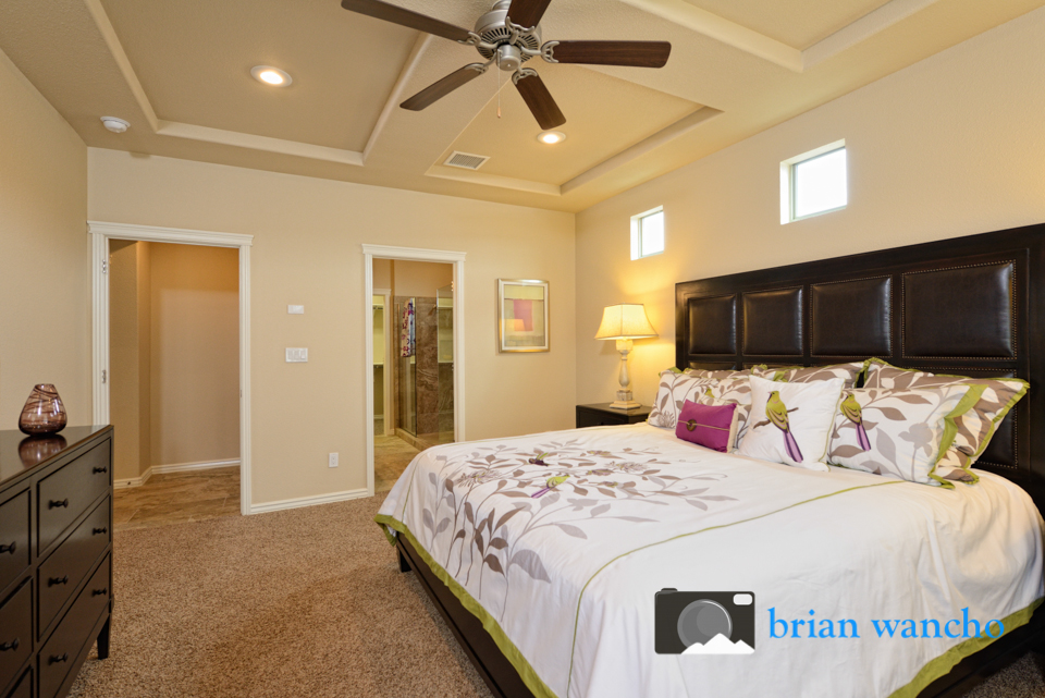 interior model home photographer in el paso
