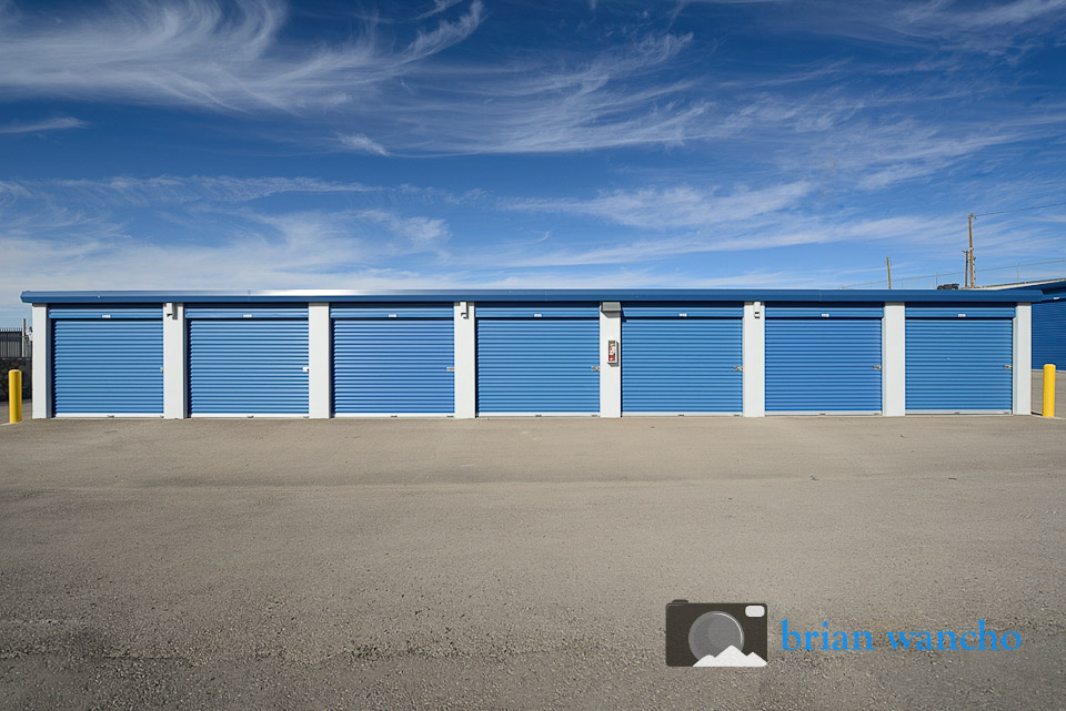 Exterior Architecture Photography - Southwest Self Storage