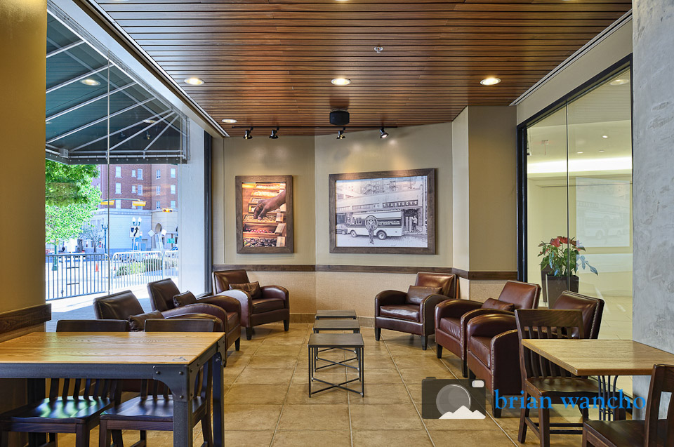 Interior Architecture photographer in El Paso - Starbucks