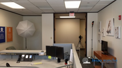 Behind The Scenes At An Interior Office Photography Shoot